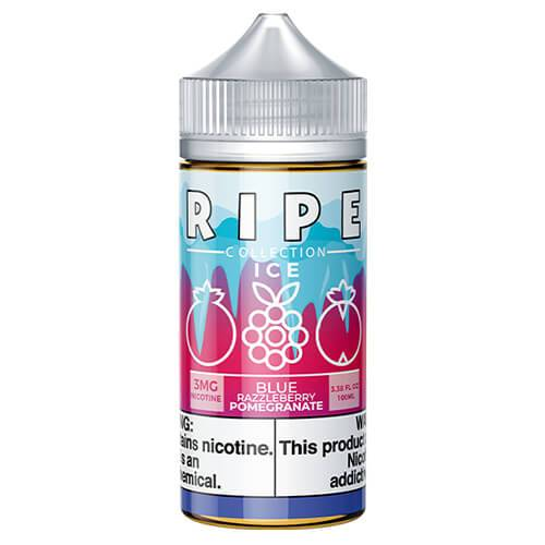 Blue Razzleberry Pomegranate by Vape 100 Ripe Collection On ICE 100ml