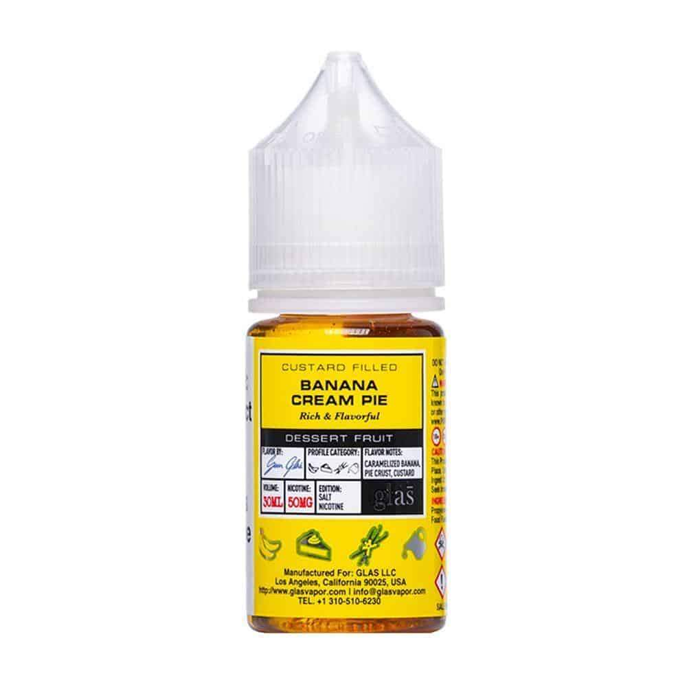Banana Cream by Glas Basix Nic Salts 30ml