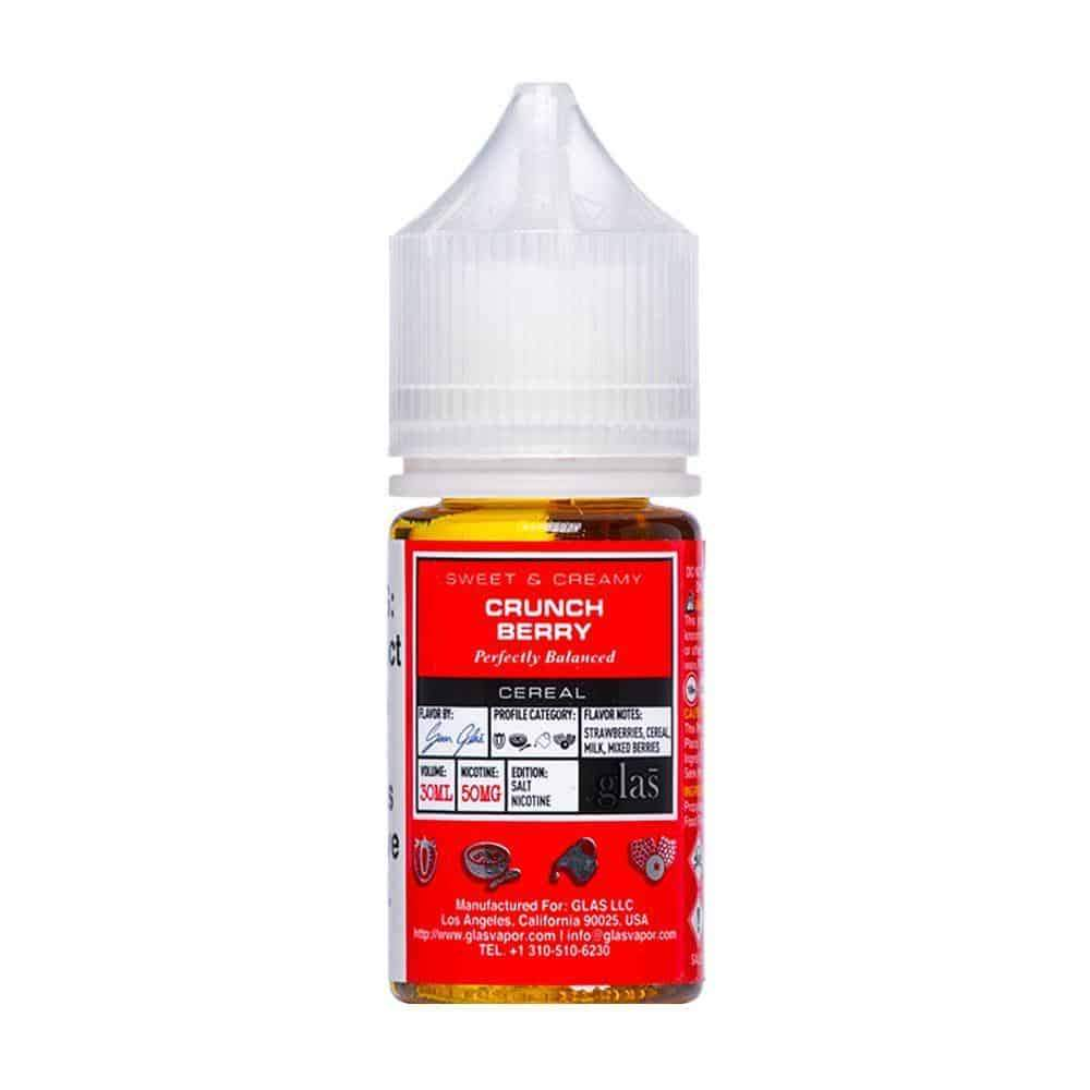 Crunch Berry by Glas Basix Nic Salts 30ml