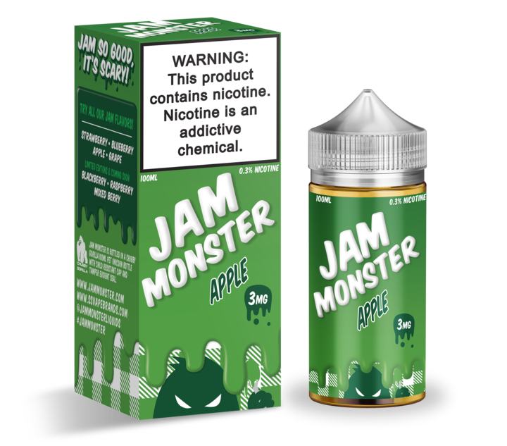 Apple by Jam Monster E-Liquid 100ml