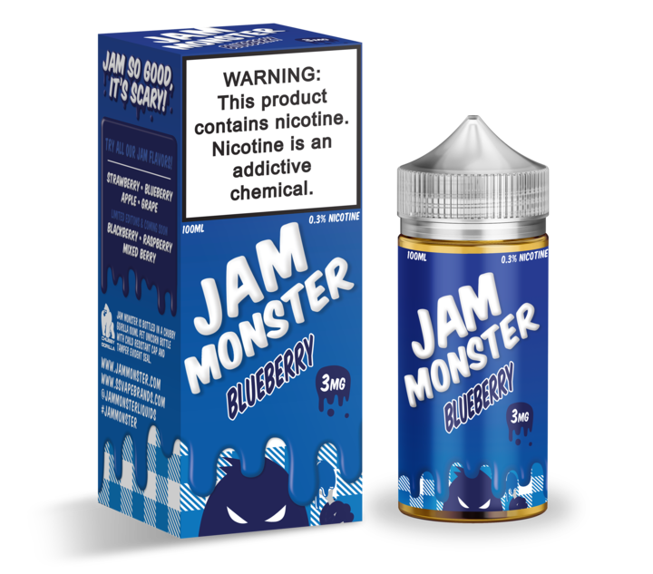 Blueberry by Jam Monster E-Liquid 100ml