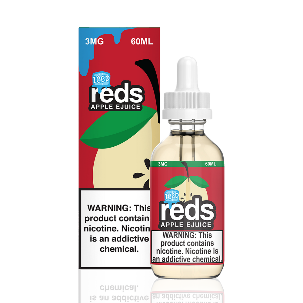 Iced Apple by Reds Apple E-Juice 60ml
