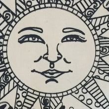Sun Face Close-up