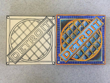 Before and after Detroit Manhole Cover Niche Board finished unfinished