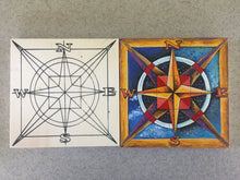 before and after Compass NicheBoard finished, unfinished side by side