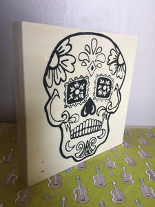 6x6' Paint and/or Color NicheBoard: Sugar Skull