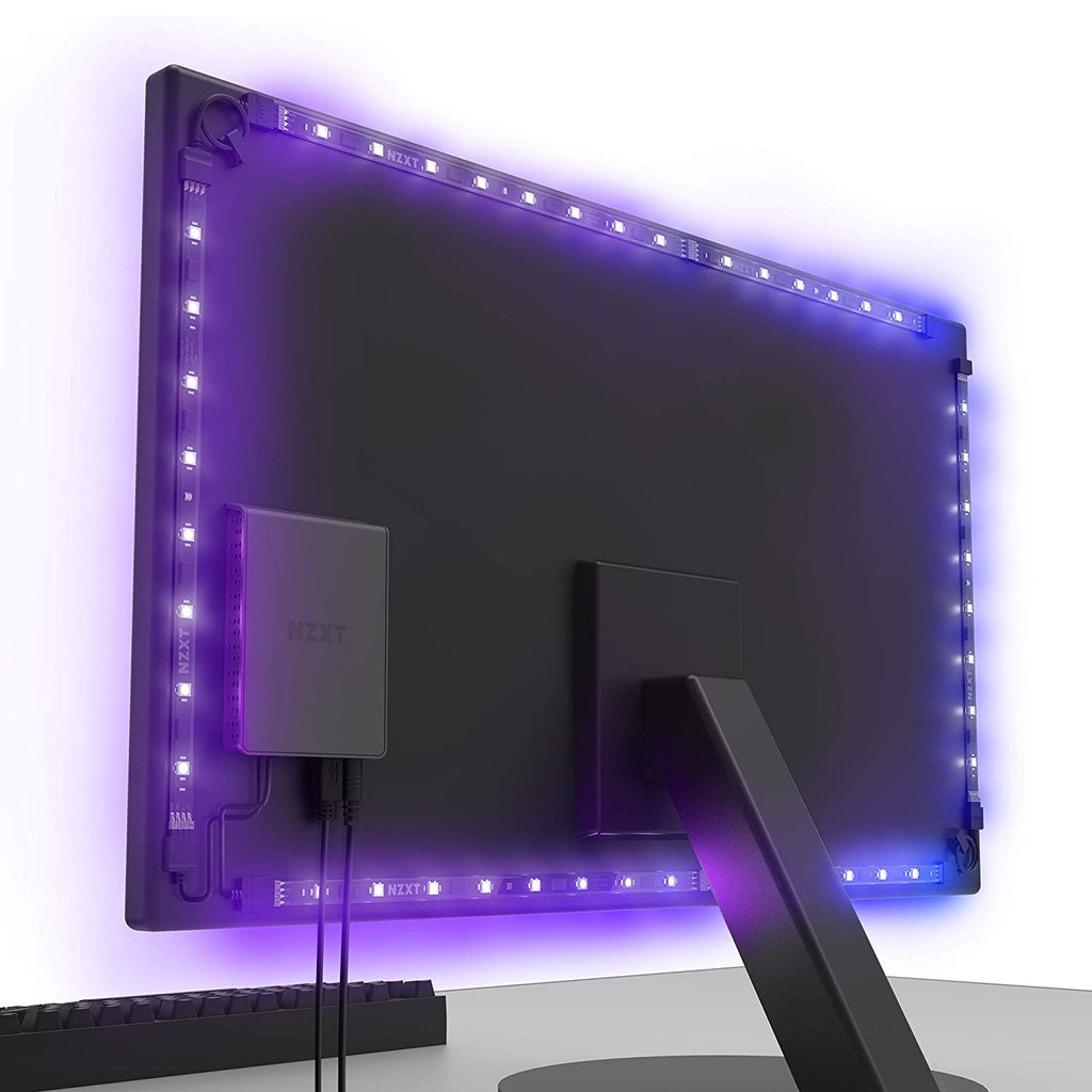 "NZXT HUE 2 Ambient Monitor Back Lighting Kit for Monitors 27"" to 35"""