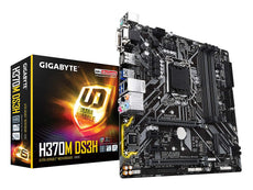 Gigabyte H370M DS3H - Intel Micro-ATX Motherboard
