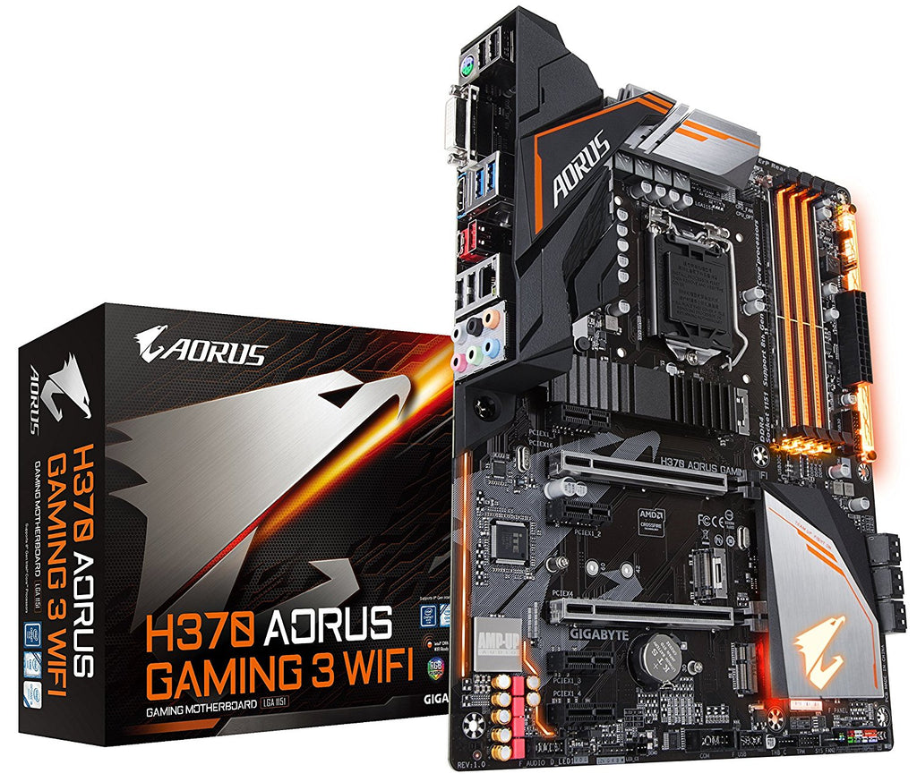 Gigabyte H370 AORUS Gaming 3 Wifi - Intel ATX Motherboard