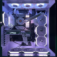( Pre-Built ) Snow Build Gaming PC Intel 10th gen 10700KA w/ RTX Snow 3070 Twin Edge OC