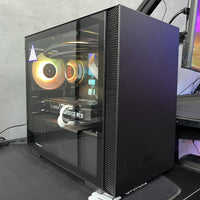 ( Pre-Built ) Gaming PC Intel i5-11600KF w/ MSI RTX 3060 2X OC Ventus & NZXT H210 ITX Black - Store 974 | ستور ٩٧٤