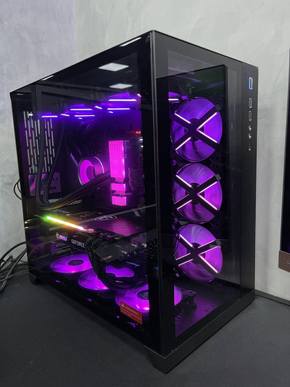 ( Pre-Built ) Gaming PC Intel i9-10900F w/ MSI RTX 3080 Trio Gaming Z & Lian Li PC-O11 Dynamic Black - Store 974 | ستور ٩٧٤