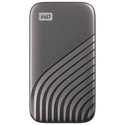 Western Digital 500GB My Passport Portable SSD - Gray - Store 974 | ستور ٩٧٤