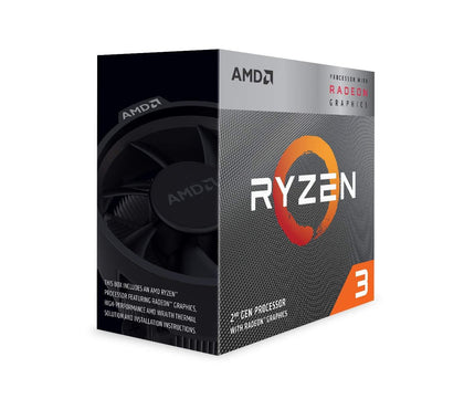 AMD Ryzen 3 3200G, 4 Core, 4 Thread, 3.6GHz - AM4 CPU - Store 974 | ستور ٩٧٤