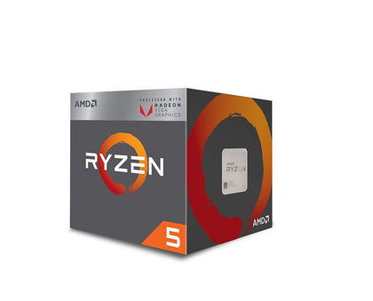 AMD Ryzen 5 2400G, 4 Core, 8 Thread, 3.9GHz - AM4 CPU - Store 974 | ستور ٩٧٤
