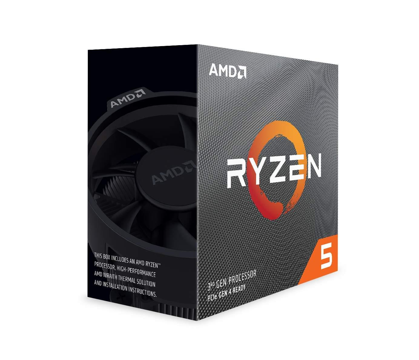 AMD Ryzen 5 3600, 6 Core, 12 Thread, 4.0 GHz - AM4 CPU
