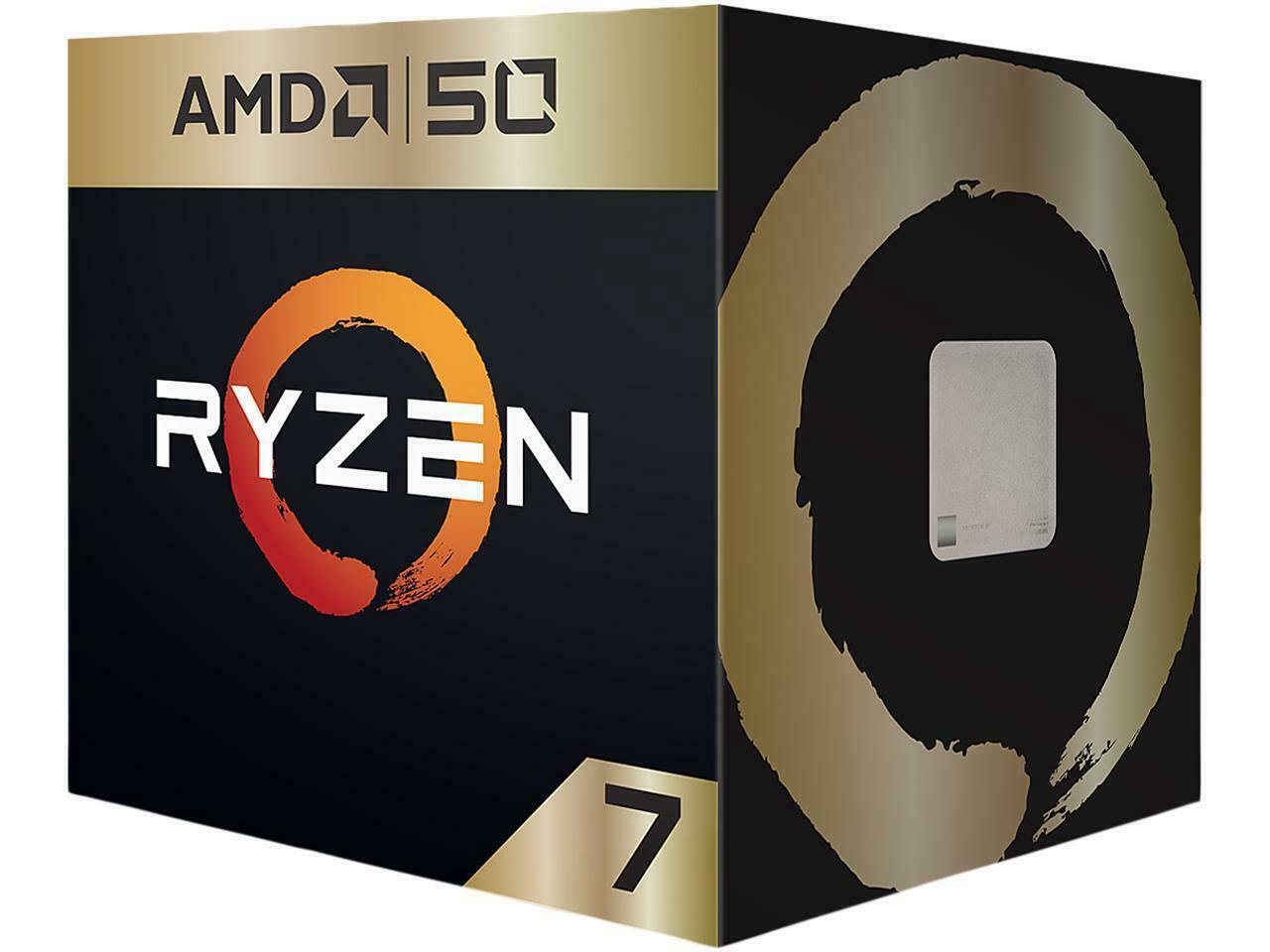 AMD Ryzen 7 2700X Gold Limited Edition,8 Core, 16 Thread, 4.3GHz - AM4 CPU
