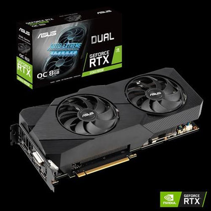 Asus Dual GEFORCE RTX 2060 Super 8GB OC EDITION - Store 974 | ستور ٩٧٤