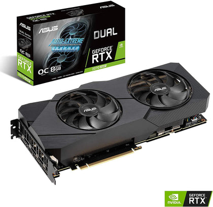 Asus Dual GEFORCE RTX 2070 SUPER 8GB OC EDITION - Store 974 | ستور ٩٧٤