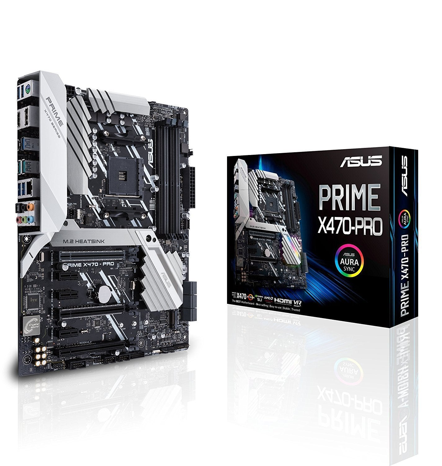 Asus Prime X470-Pro - AMD ATX Motherboard