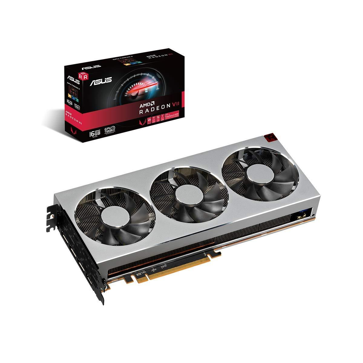 Asus Radeon VII 16GB GDDR6 PCI-E 3x4 Graphics Card