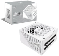Asus ROG Strix 850W 80+ Gold Fully-Modular PSU - White Edition - Store 974 | ستور ٩٧٤