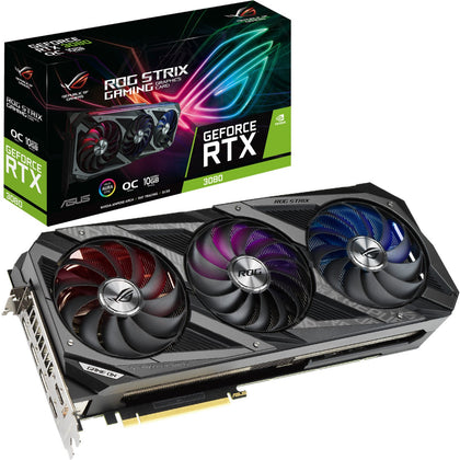Asus ROG Strix Geforce RTX 3080 OC 10GB GDDR6X - Store 974 | ستور ٩٧٤