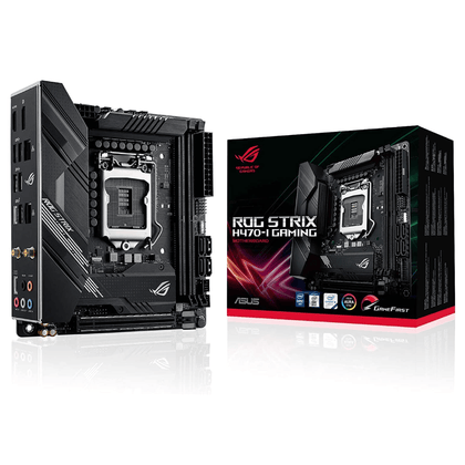 ASUS ROG Strix H470-I Wi-Fi Gaming Motherboard - Store 974 | ستور ٩٧٤