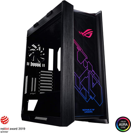 Asus ROG Strix Helios GX601 RGB Mid-Tower Case-Black - Store 974 | ستور ٩٧٤