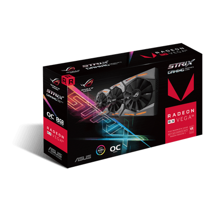 Asus ROG Strix RX Vega 56 OC 8GB HBM2 PCI-E Gen 3x4 Graphics Card - Store 974 | ستور ٩٧٤