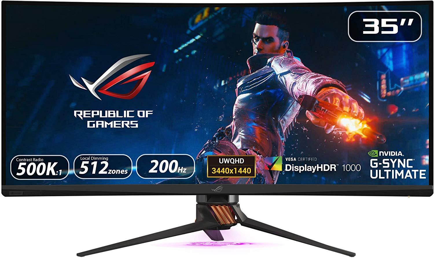 Asus Rog Swift Pg35vq Ultra Wide Hdr Gaming Monitor Store 974 ستور ٩٧٤