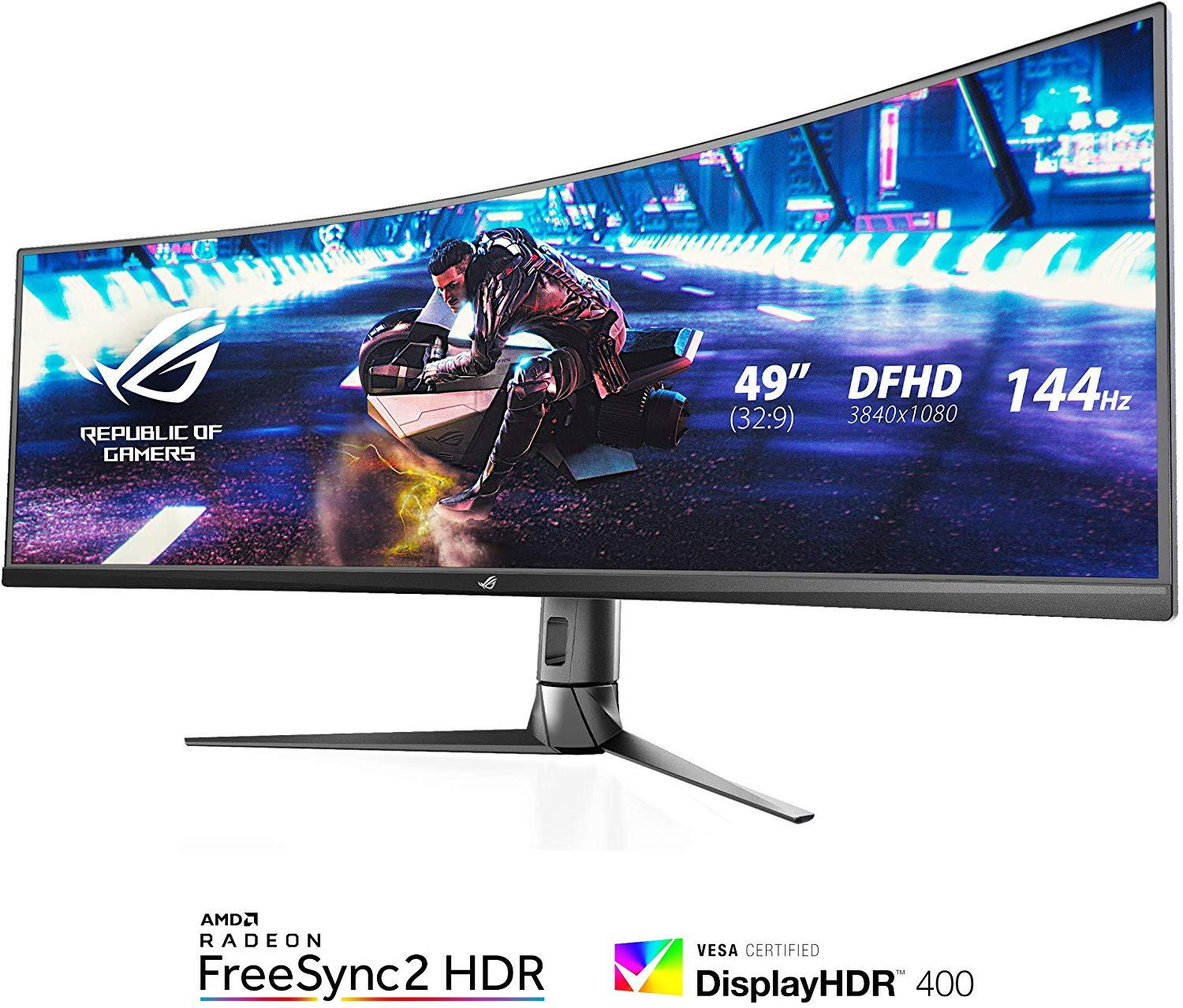 Asus Rog Switch XG49VQ 49 inches Curved Monitor 144hz (3840x1080)