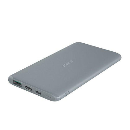AUKEY XN5G 5000mAh Powerbank with Airpower Type C 1-Grey - Store 974 | ستور ٩٧٤