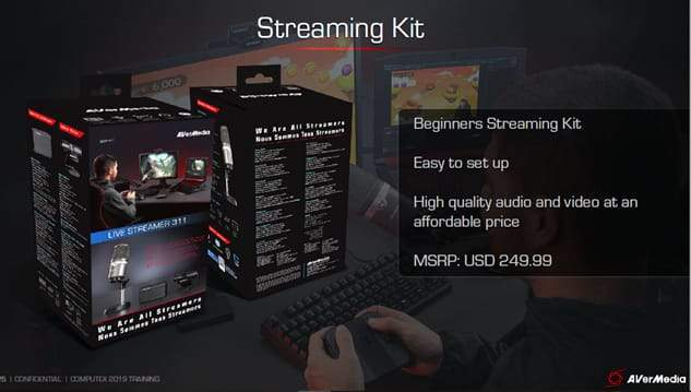 AVerMedia BO311 Youtuber/Live Streamer Starter Pack