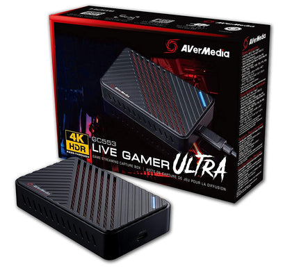 AVerMedia Live Gamer Ultra 4Kp60 HDR Pass-Through Capture Card - Store 974 | ستور ٩٧٤