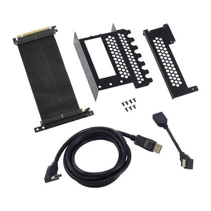 CableMod - Vertical PCI-E Bracket, HDMI+Display Port - Black - Store 974 | ستور ٩٧٤