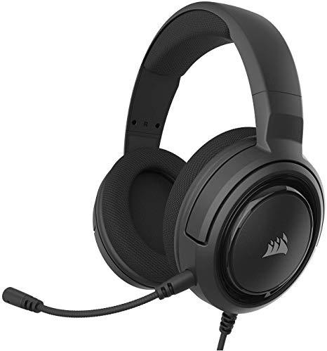 Corsair HS35 Stereo Wired Gaming Headset - Carbon