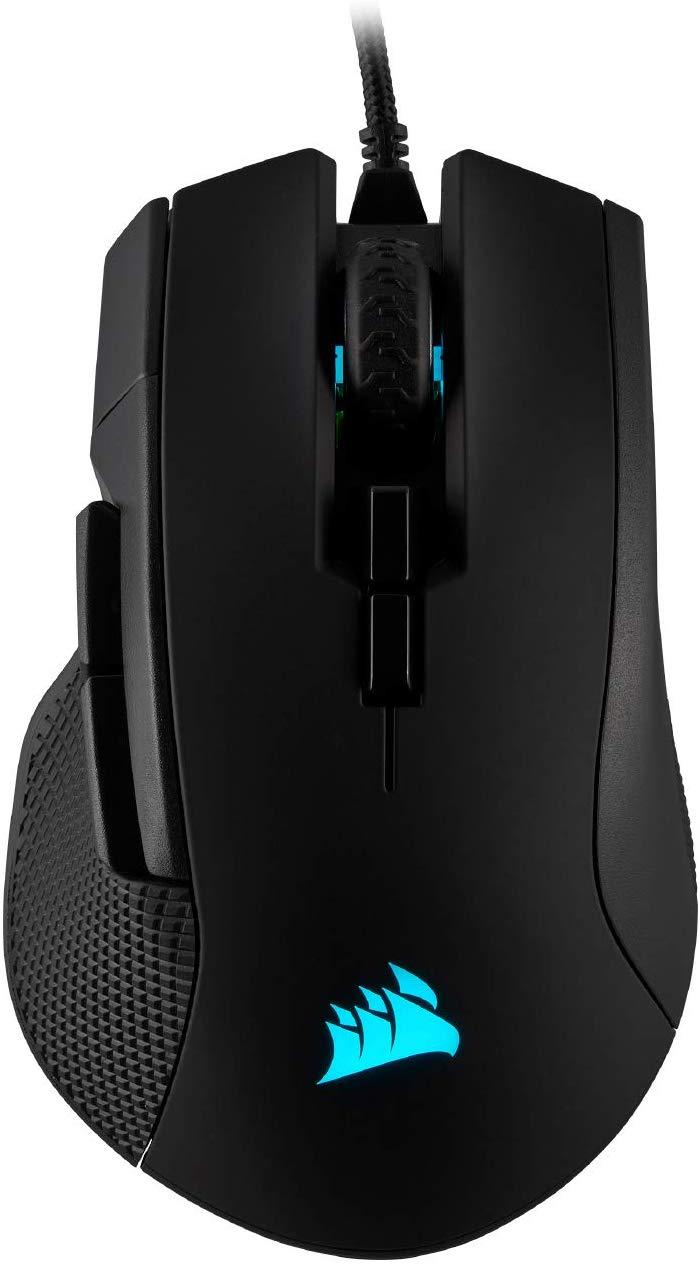 Corsair Ironclaw RGB Gaming Mouse - Wired
