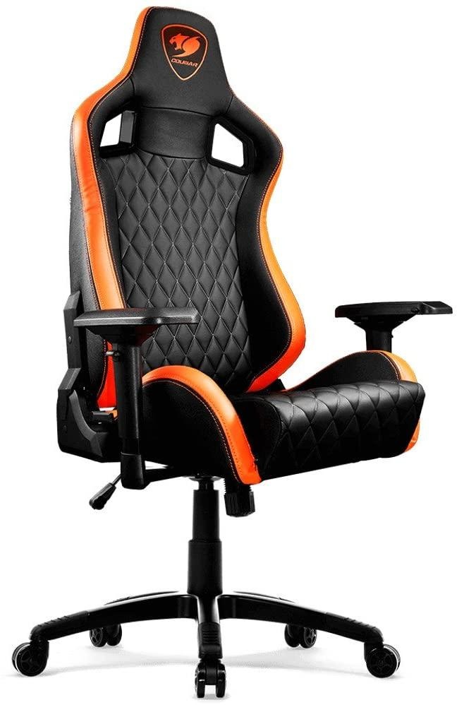 Cougar Chair Armor S-Black - Store 974 | ستور ٩٧٤