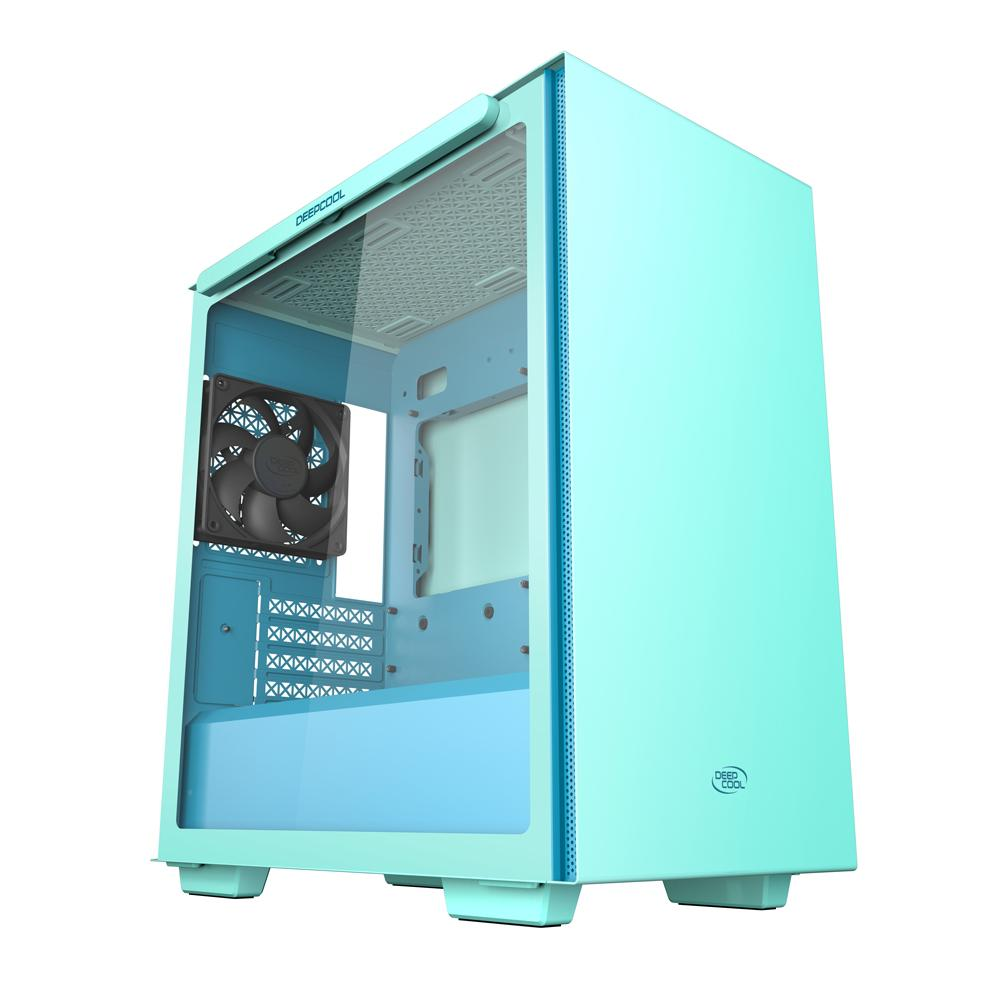 Deepcool Macube 110 Mid Tower Chassis - Mint Green - Store 974 | ستور ٩٧٤