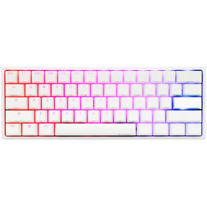 Ducky One 2 Mini RGB Pure White Cherry MX Red - Store 974 | ستور ٩٧٤
