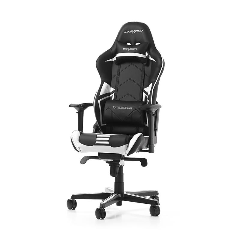 DXRacer Racing Pro Gaming Chair - Black/White