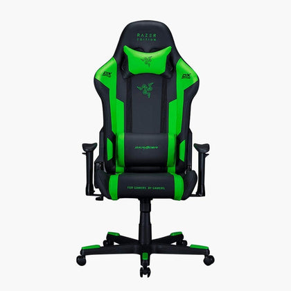 DXRacer RAZER Special Edition Gaming Chair - Green/Black - Store 974 | ستور ٩٧٤