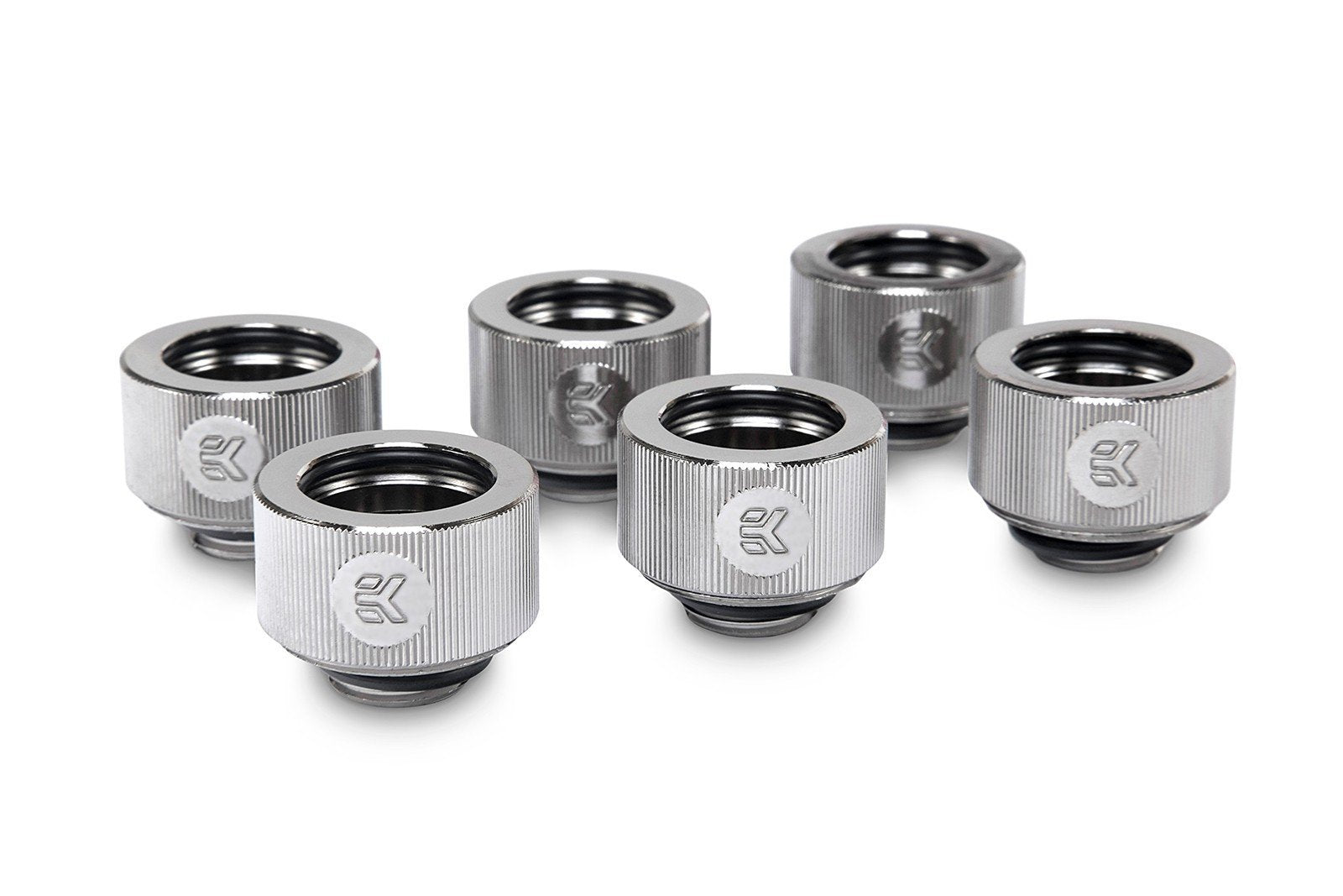 EKWB EK-HDC Fitting 16mm - Nickel (6-pack)