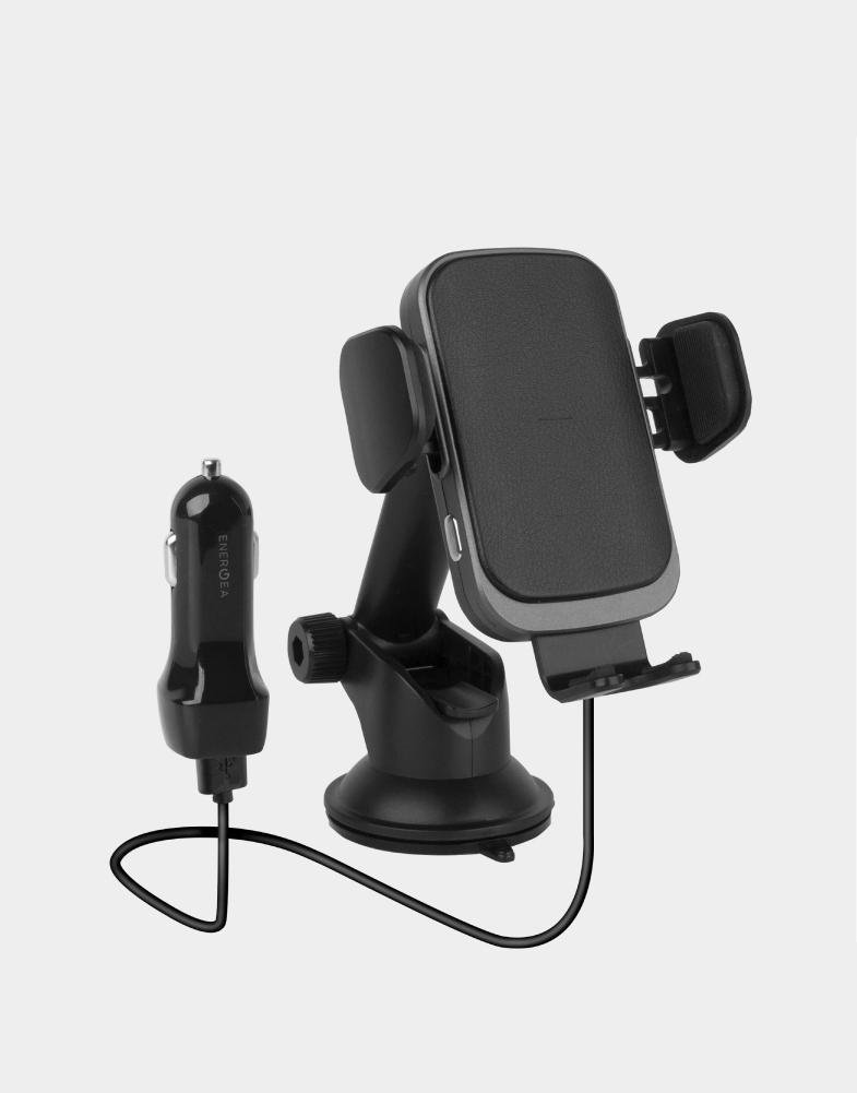 Energea Wimount Sense 2 Wireless Car Charger Dashboard Mount - Black