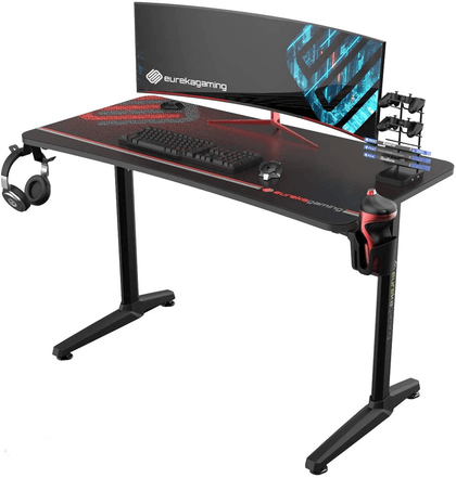 Eureka Gaming Captain Series GIP 47'' Computer Desk, Black - Store 974 | ستور ٩٧٤