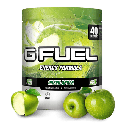 GFuel Energy Formula -  Green Apple 280g - Store 974 | ستور ٩٧٤