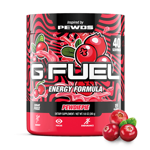GFuel Pewdiepie Limited Edition - Lingon Berry 280g