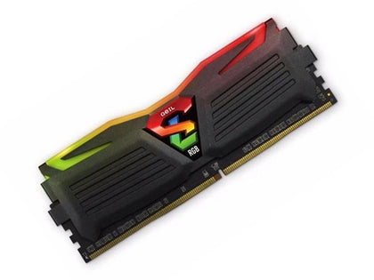 GeiL Super Luce RGB 4GB 2400MHz - Black - Store 974 | ستور ٩٧٤