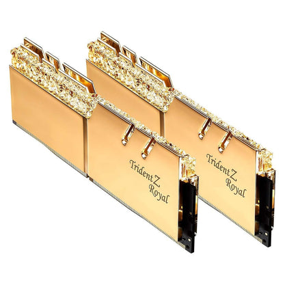 G.Skill Trident Z Royal Series 16GB(2x8GB) 3200MHz - Gold - Store 974 | ستور ٩٧٤